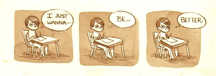 Simplemente, quiero ser mejor